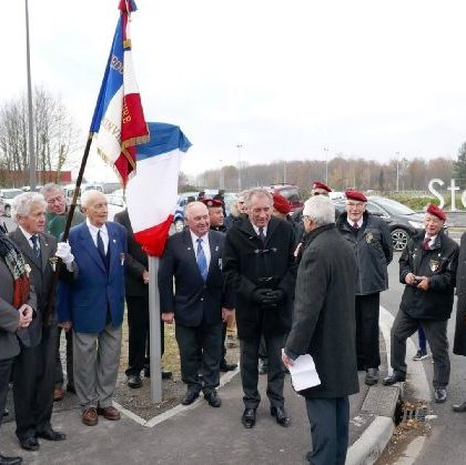 Inauguration Avenue Bataillon de Joinville